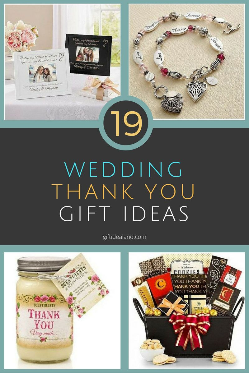 19 Good Wedding Thank You Gift Ideas Everyone Will Love Pinterest