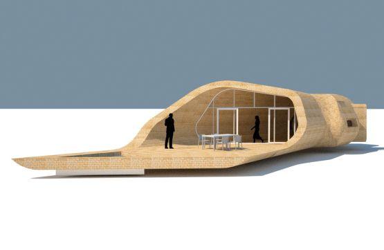 Woven bamboo house designed by Danish architect Søren Korsgaard: chilly but interesting