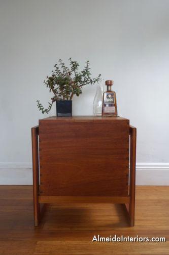 Retro-Vintage-Mid-Century-Teak-Home-Bar-Side-Table-Storage-Cocktail-Cupboard