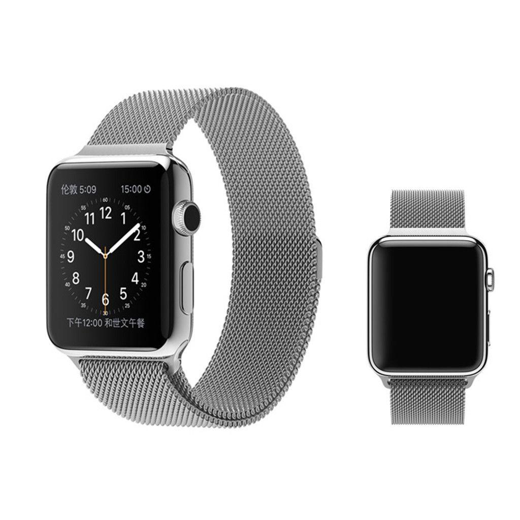 Stainless steel Milanese Loop for Apple Watch Apple