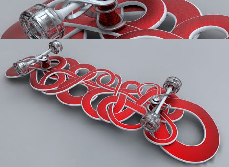 graffiti skateboard