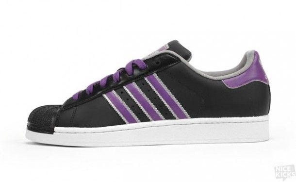 purple adidas mens