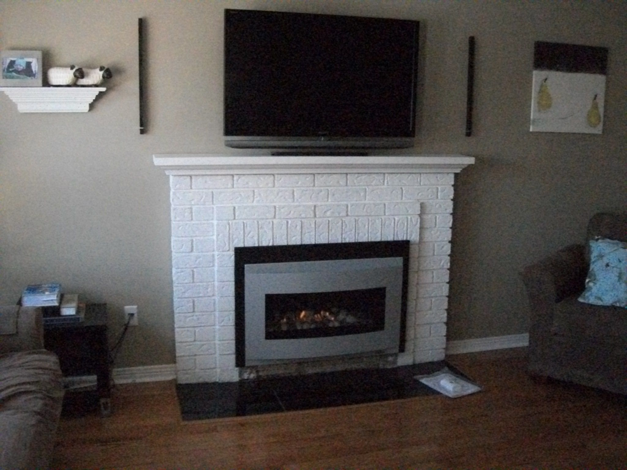 Fireplace inserts and Interiors