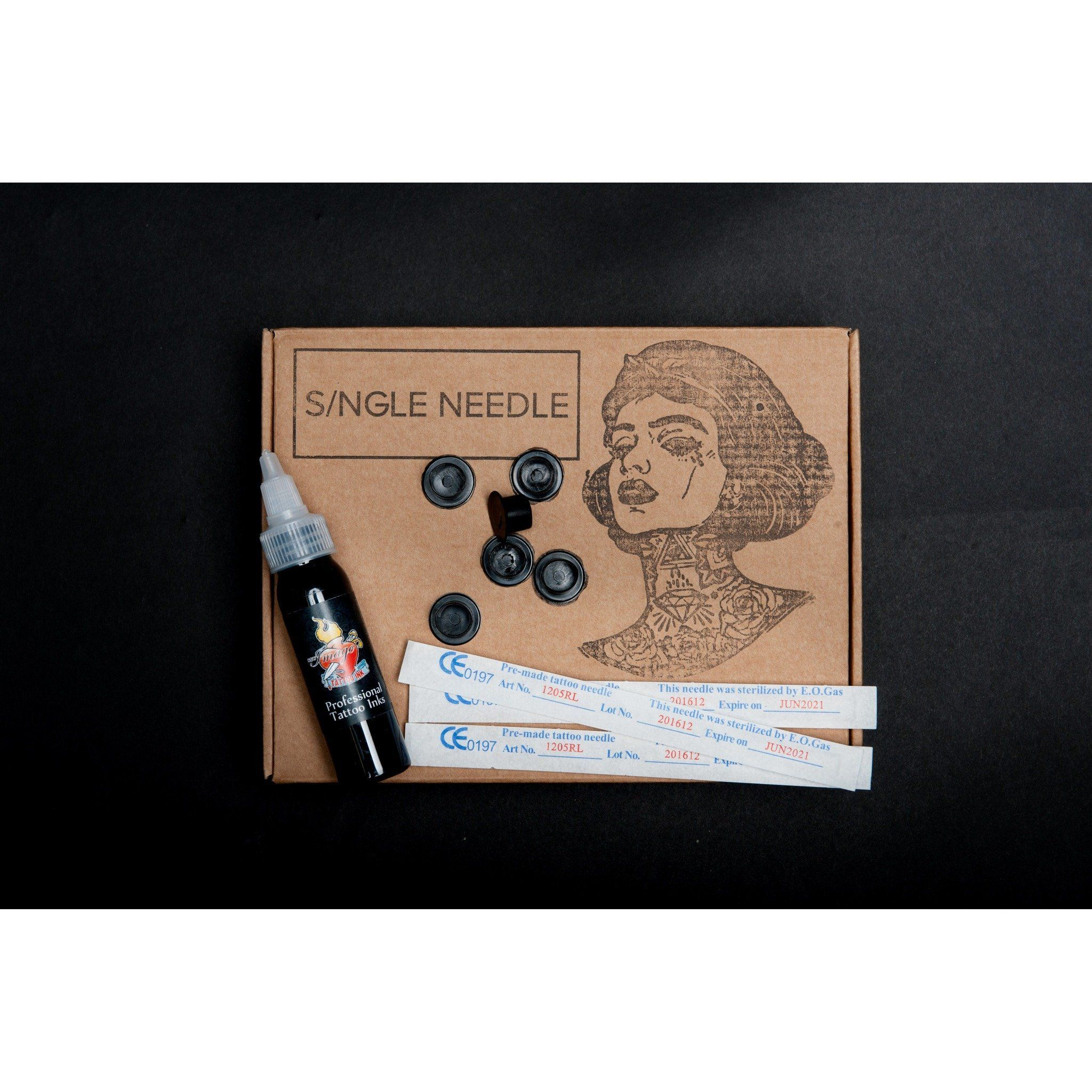 Photo of Hand Poke Top Up/ Practice Top Up Kit – Homemade Tattoo 2020