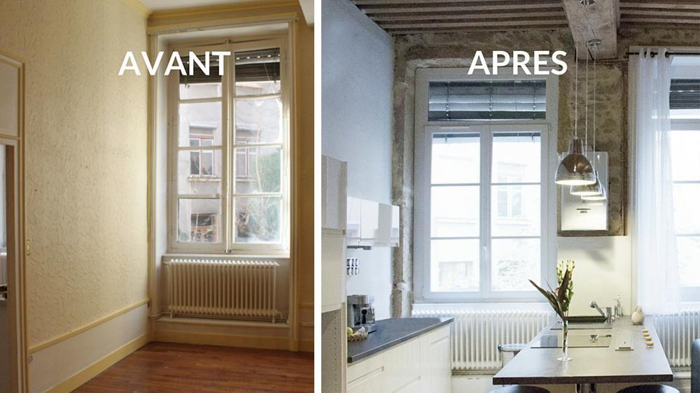 Avant / Après : Créer Une Grande Pièce à Vivre Avec Une Cuisine Ouverte Grandes Images