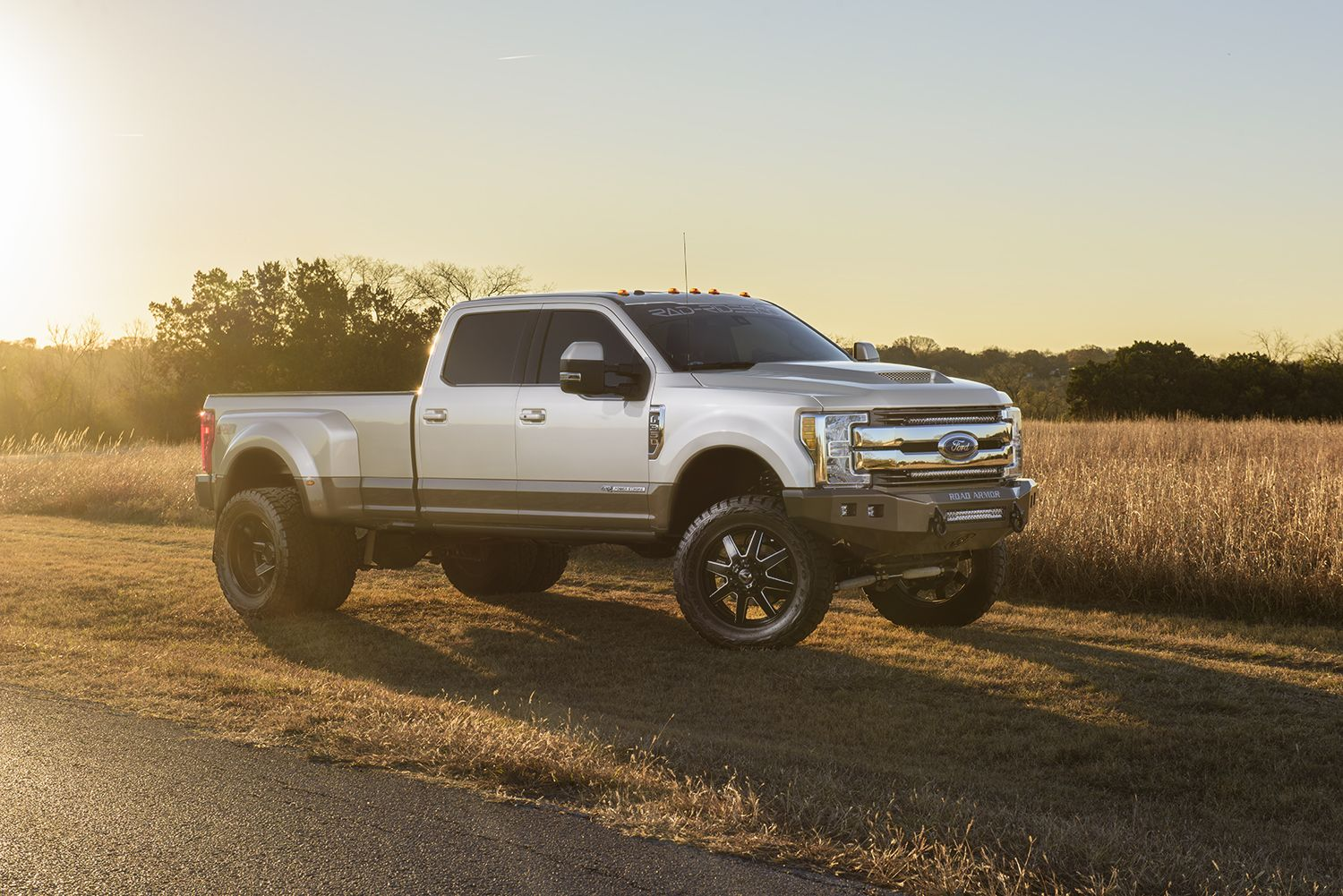 2017 Ford F 350 Dually Lifted 4x4 Truck King Ranch With Fuel 22 Maverick Wheels Pro Comp 6 Lift Toyo R T Open Country Tires Road Ar Trucks King Ranch Ford