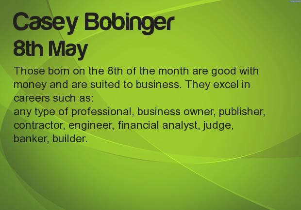 What your Birthday says about your career? Find at http://apps.funboxinc.com/birthday_say_about_career