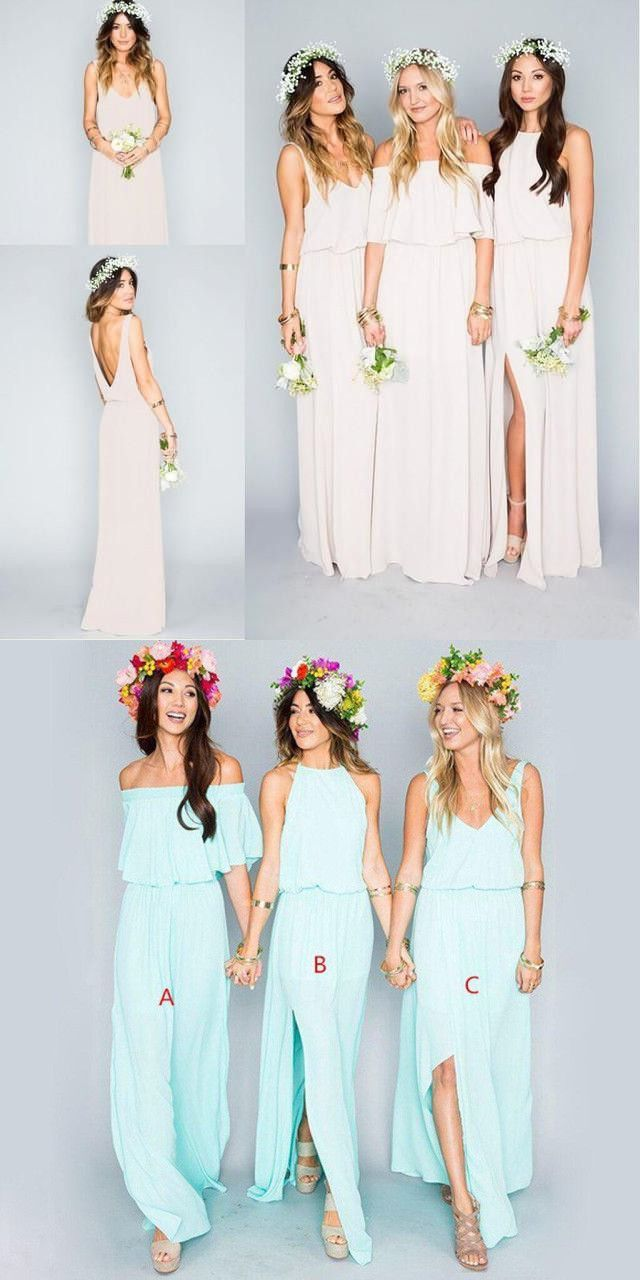 Tiffany blue bridesmaid dresses mismatched bridesmaid dresses