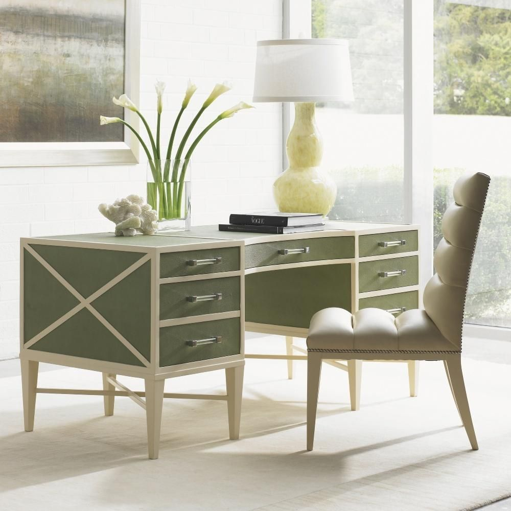 Gloriously fresh and laid back, this desk makes any task ...