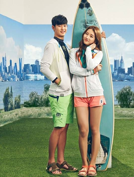 Suzy And Kim Soo Hyun Are Back Together Again For A Bean Pole Summer Pictorial Kim Soo Hyun Korean Actors Korean Celebrities