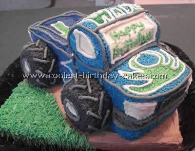 Easy Cake Recipe For The Coolest Ever Truck Cake Easy