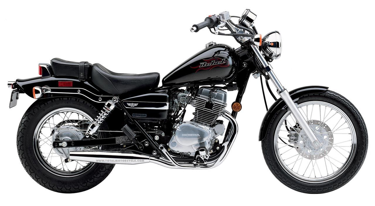 The Honda Rebel. Quite possibly the only bike short enough for me to ride.