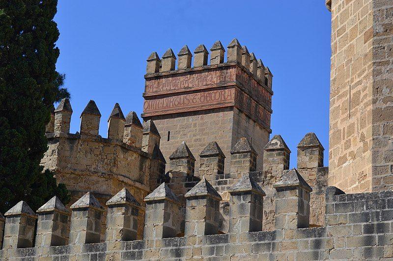 13th-cent.architecture in Andalusia.Castillo de San Marcos, El Puerto de Santa María, España.