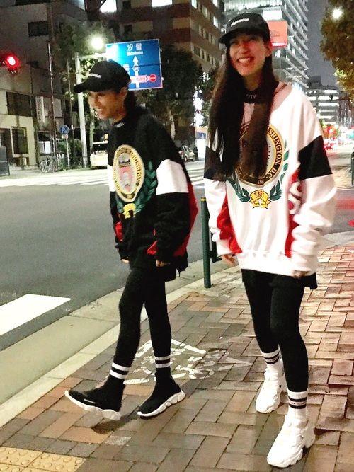 HALO TOKYO|BALENCIAGAのキャップを使ったコーディネート