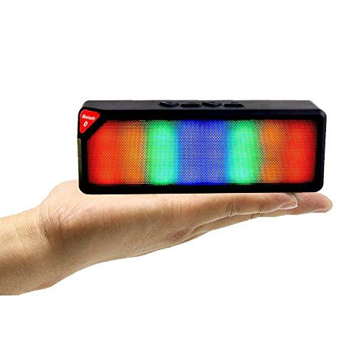 Sharper Image Sbt613 Bluetooth Speaker With Lights Wireless Party