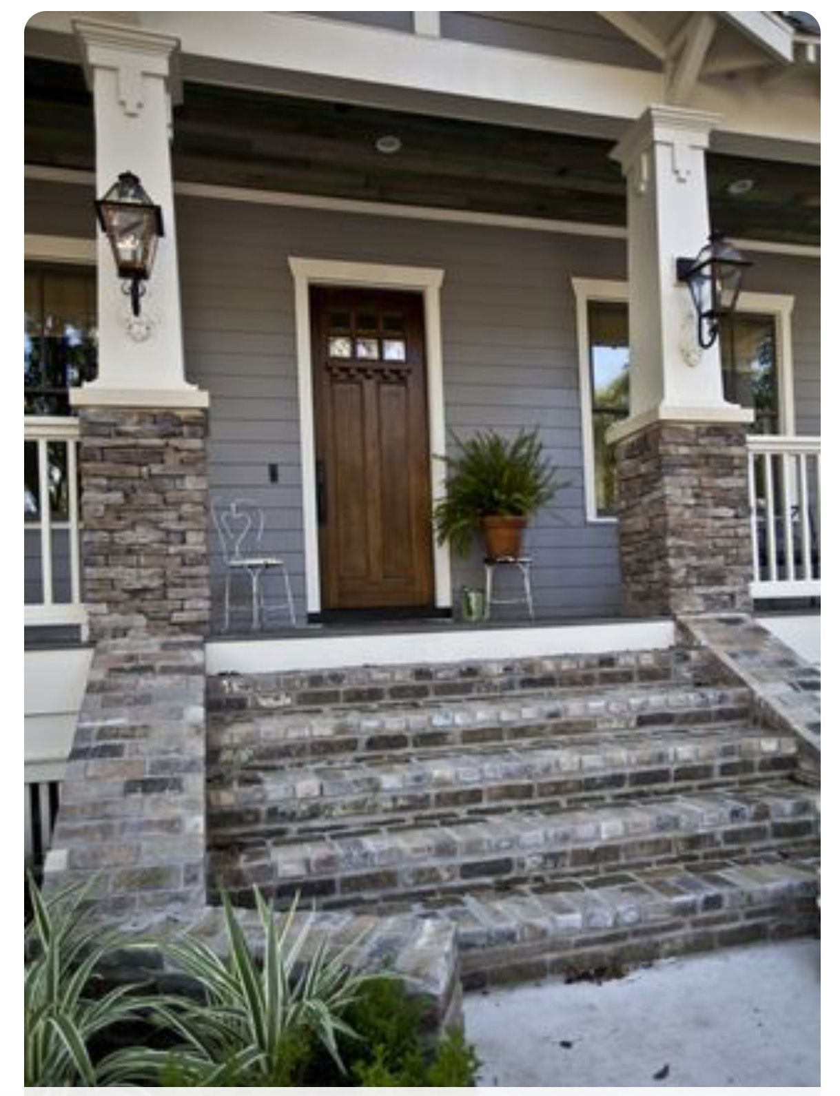 House Paint Exterior Exterior Stairs Exterior Brick: Pin By Denise McDaniel On My Home Decor Style
