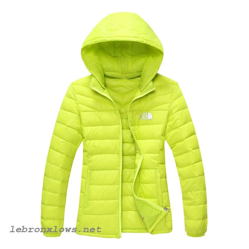 a7a62335c outlet The North Face Nuptse Goose Womens Down Jackets Chartreuse ...