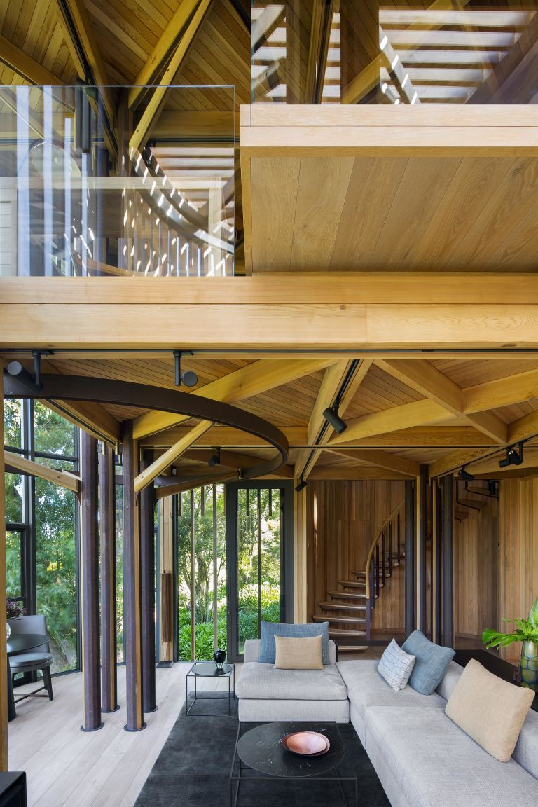 stunning house room ideas. This Treehouse Like Home Is Stunning Inside and Out