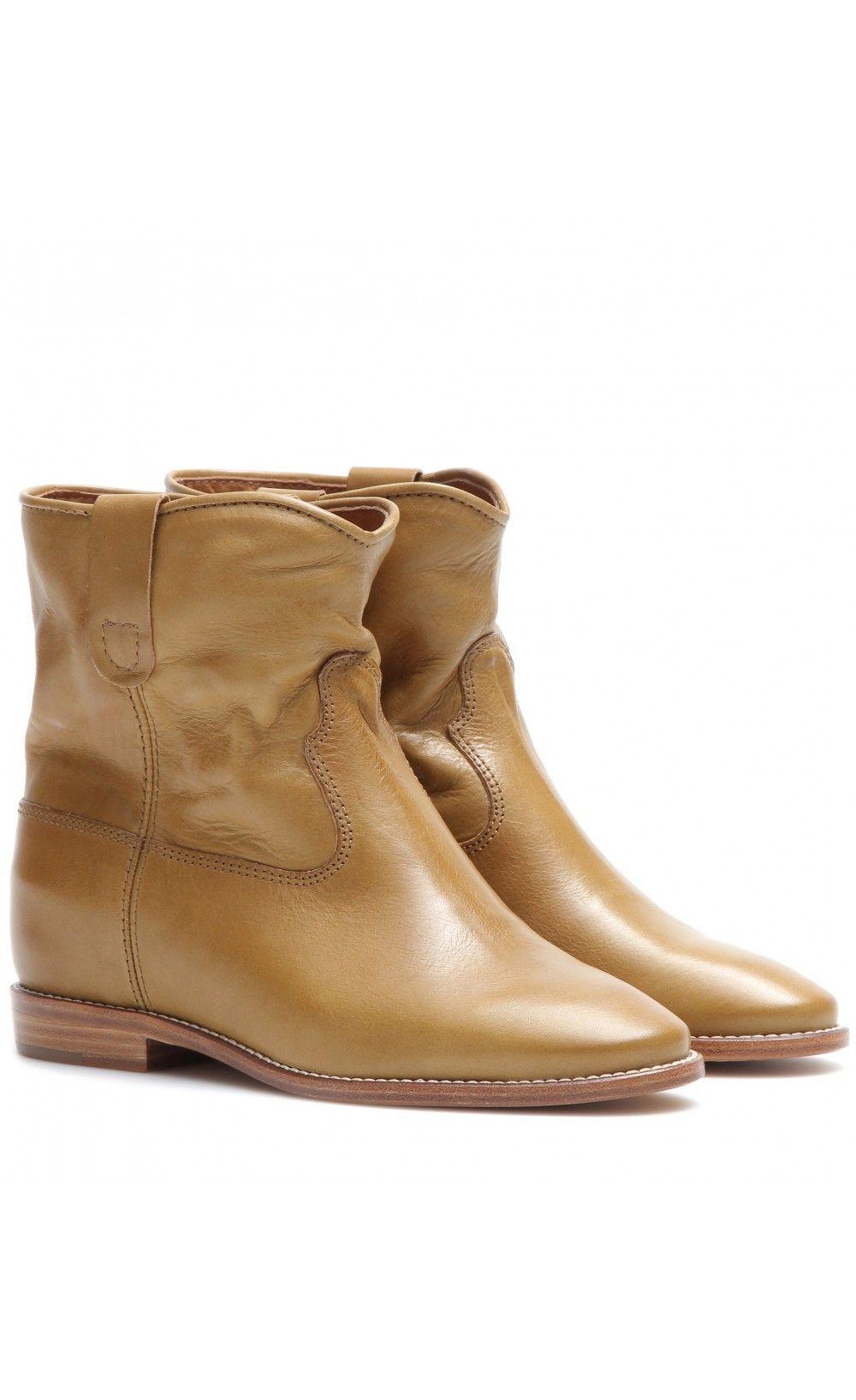 4b0e9e3c9b Isabel Marant ÉToile Cluster Leather Boots Camel - Isabel Marant ...