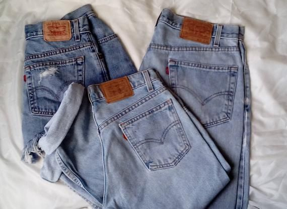 2d870651 Vintage Levi's Jeans Relaxed Mom Jeans in 2019 | Artisinal ...