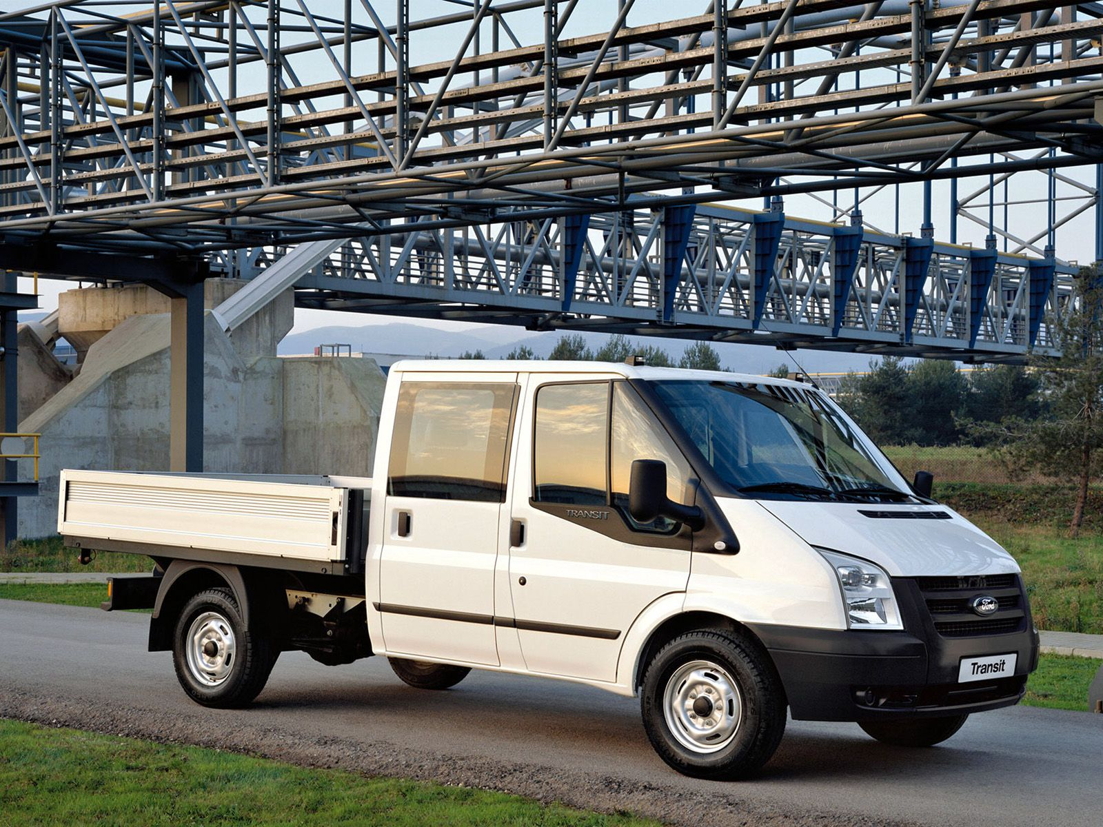 Ford transit double cab pickup 2006 11