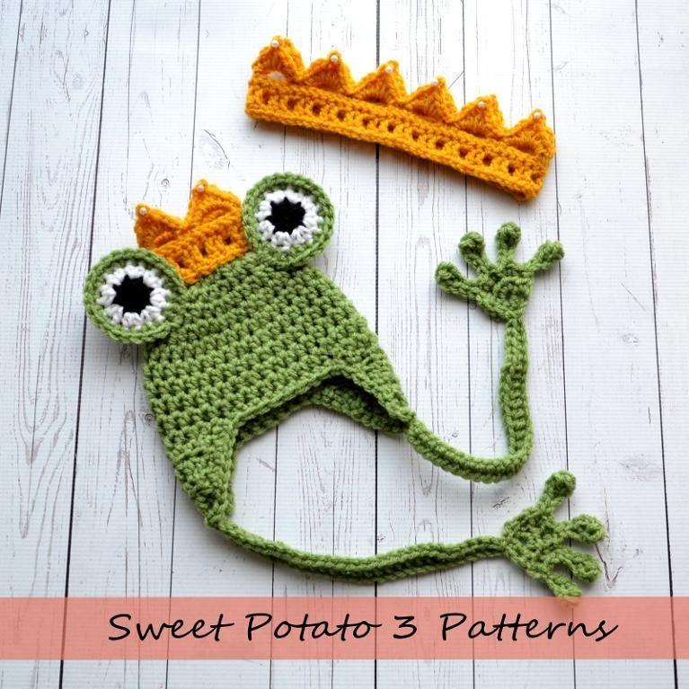 Princess & Frog Set by MySweetPotato3 | Crocheting Pattern