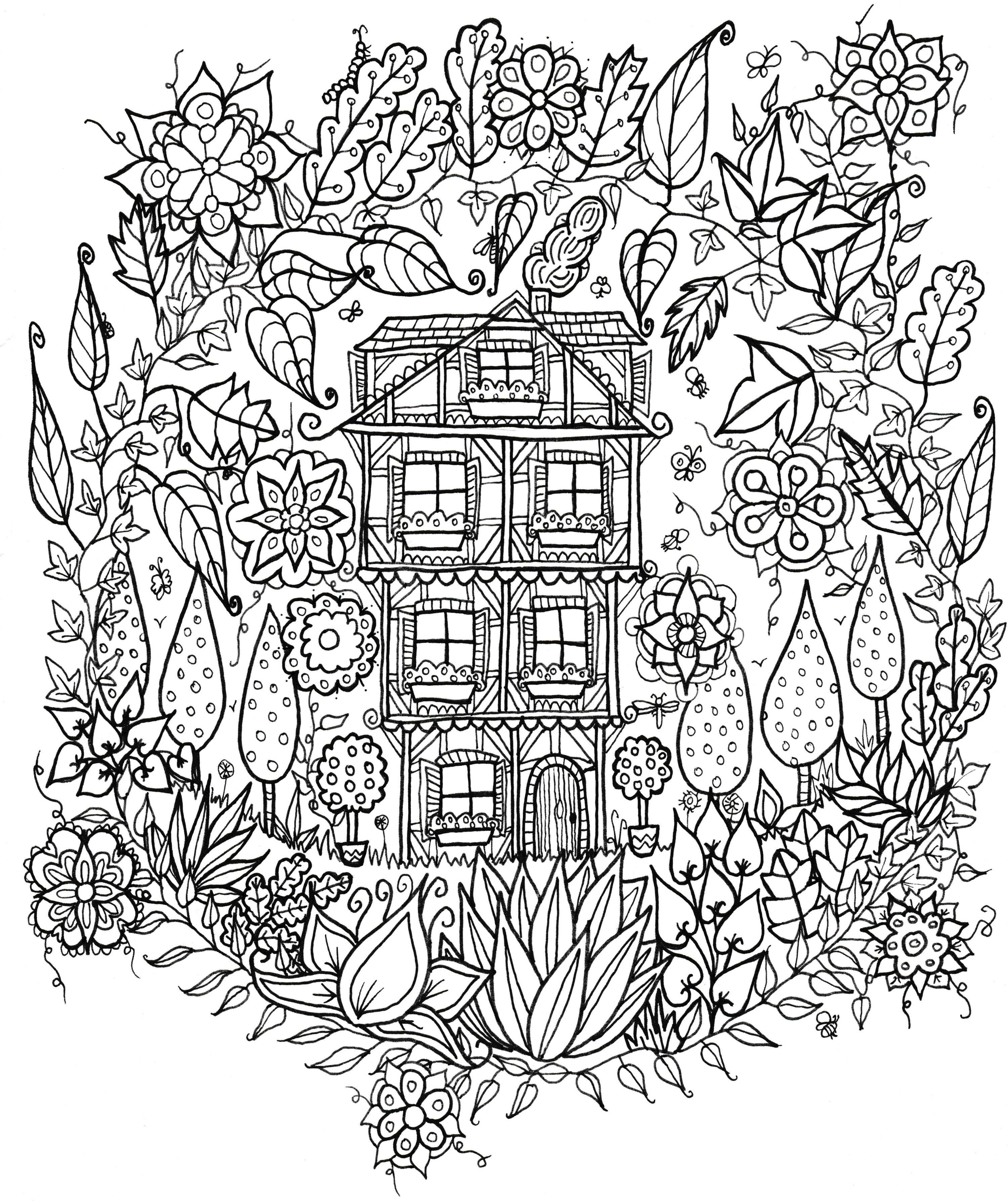 Pin von shannon auf Adult coloring | Pinterest