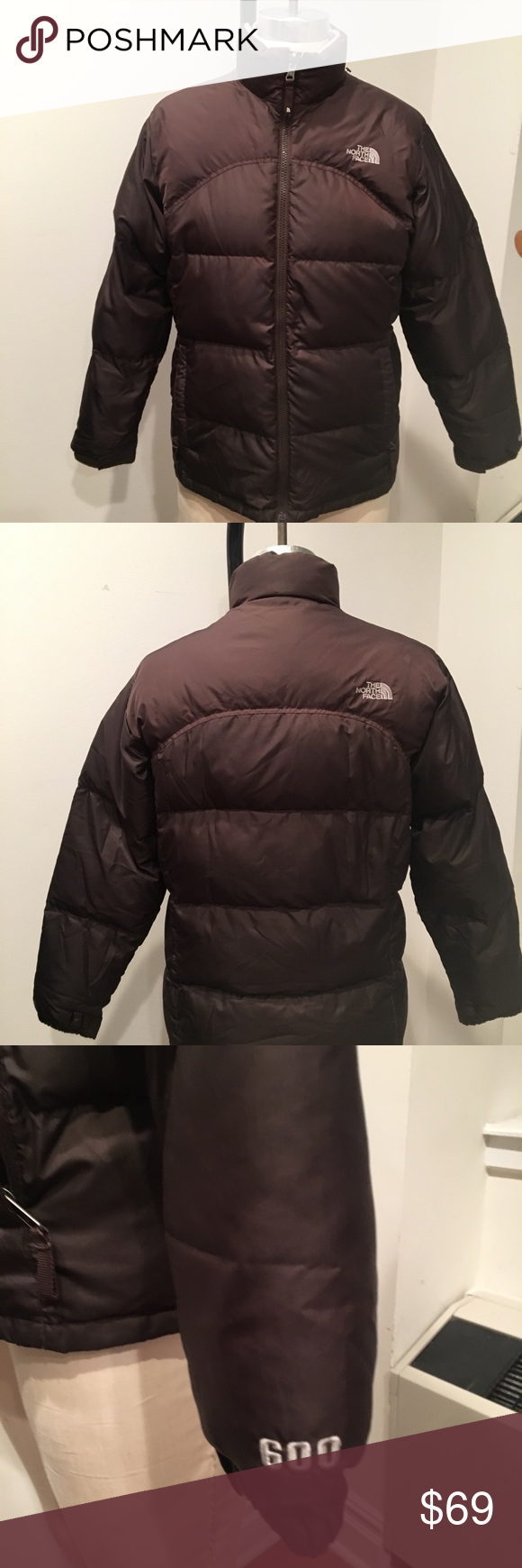 The North Face 600 Girls Goose Down Brown Puffer Brown Puffer Brown Puffer Jacket The North Face [ 1740 x 580 Pixel ]