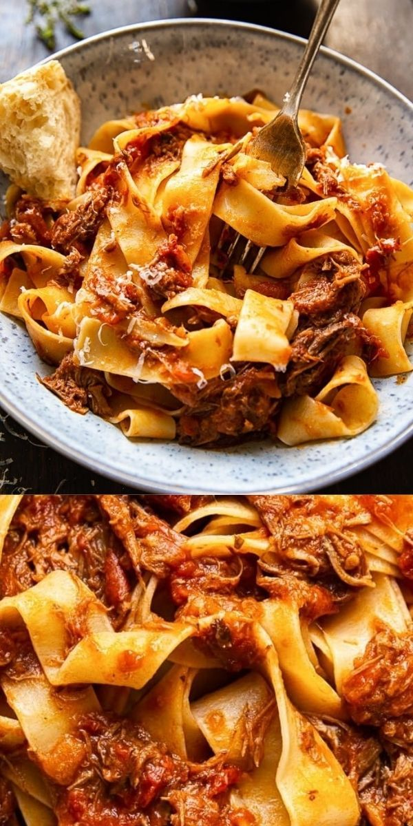 Photo of Slow Cooker Italian Beef Ragu