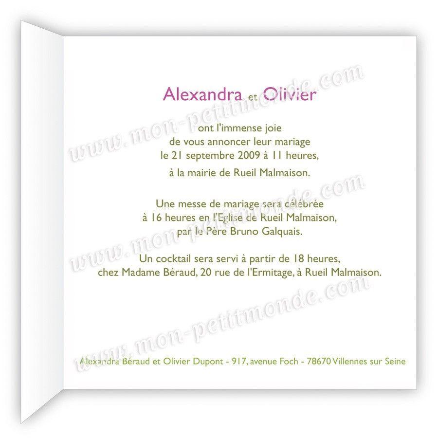 carte de mariage texte Modèles De Textes Pour Carte D'anniversaire De Mariage Elegant