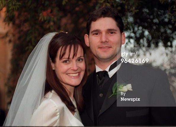Actor Eric Bana After His Wedding To Rebecca Gleeson At St Joan Of