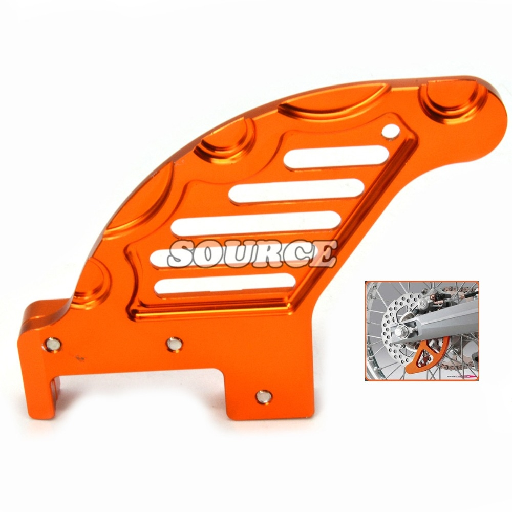 29.42$  Buy here - http://aigyf.worlditems.win/all/product.php?id=32773232012 - Motorcycle CNC Aluminum Orange Autobike Rear Brake Disc Guard Potector For KTM 450 EXC 2009-2014 KTM 450 XCF 2008-2014 2013 2012