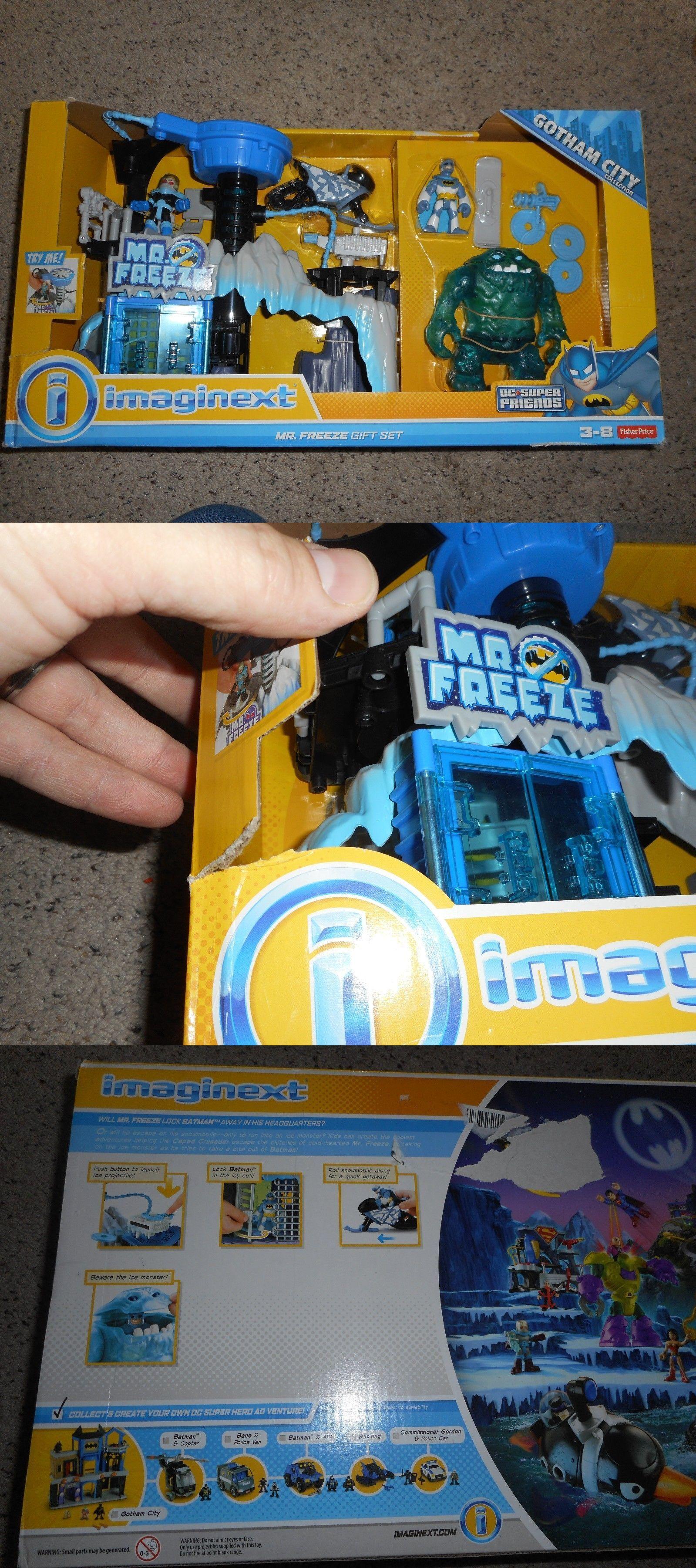 Imaginext 50305: Imaginext Batman Playset Mr. Freeze Giftset ...