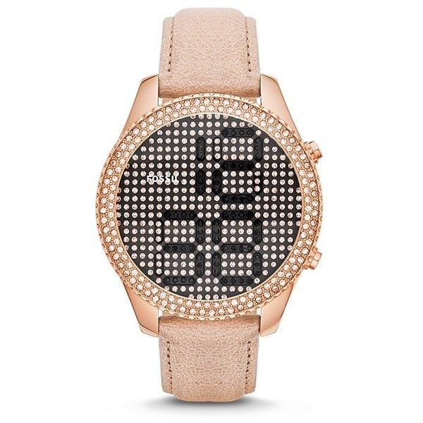 Fossil Electro Tick Leather Watch - Sand $295