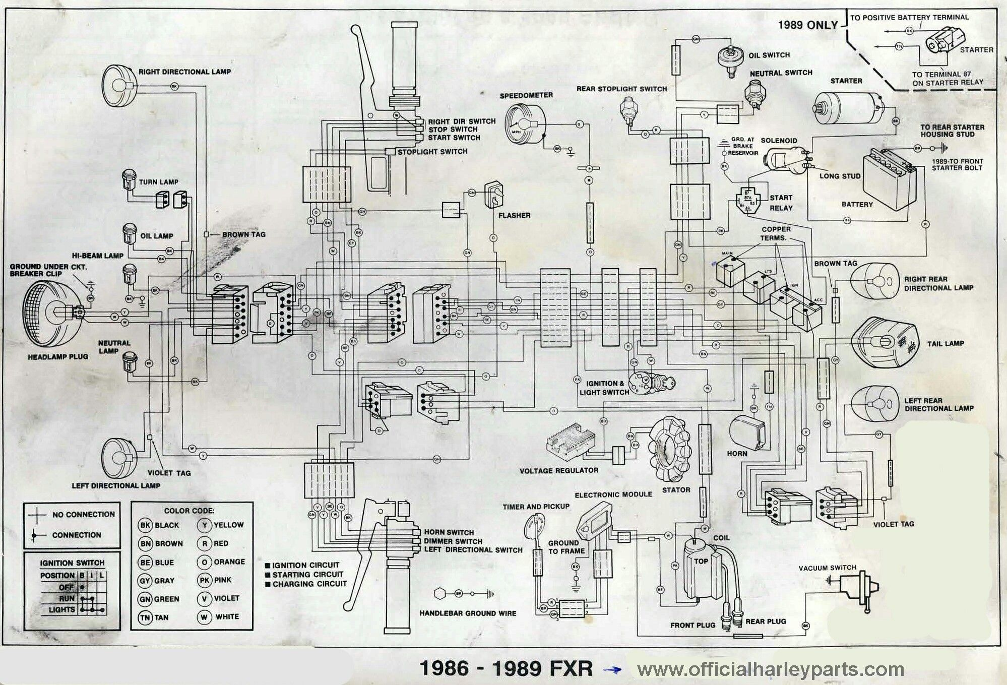 87 Fxr Wiring Diagram Everything About Sportster Pin By Rene Bruno On Pinterest Rh In Com 1988 Softail
