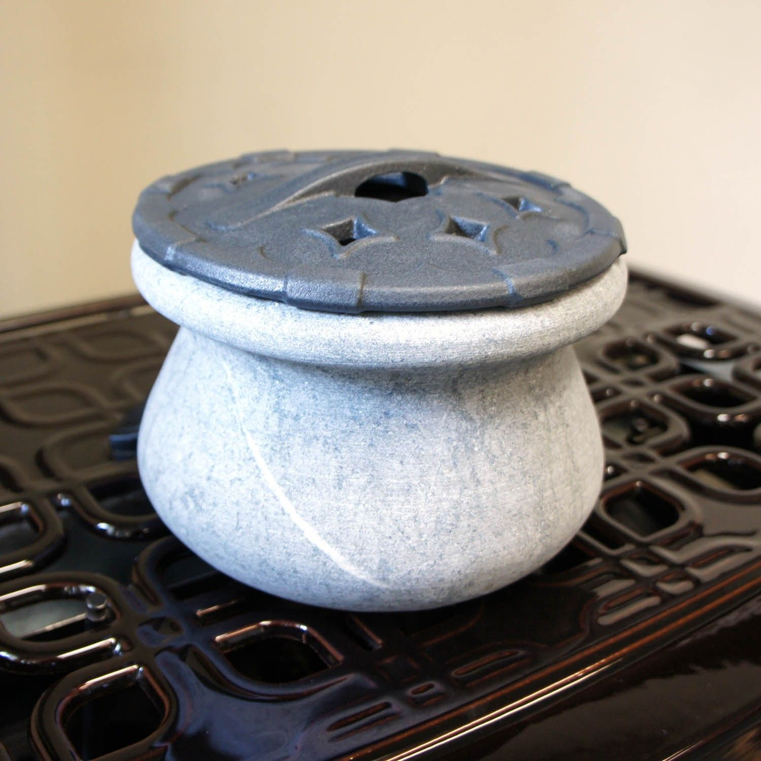 For the woodstove. Soapstone Steamer - For The Woodstove. Soapstone Steamer Wishful Thinking