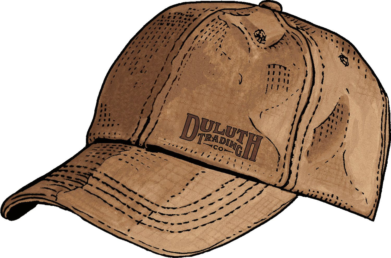 ce9c11b6c Cotton baseball cap made of rugged yet broken-in Fire Hose canvas - only  from Duluth Trading Company. Same rugged yet flexible heroic canvas that  once ...