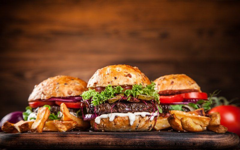 Desktop Wallpaper Burger Food Fast Food Hd Image Picture Background Jpo1vl Homemade Burgers Homemade Burger Recipe Gourmet Burgers