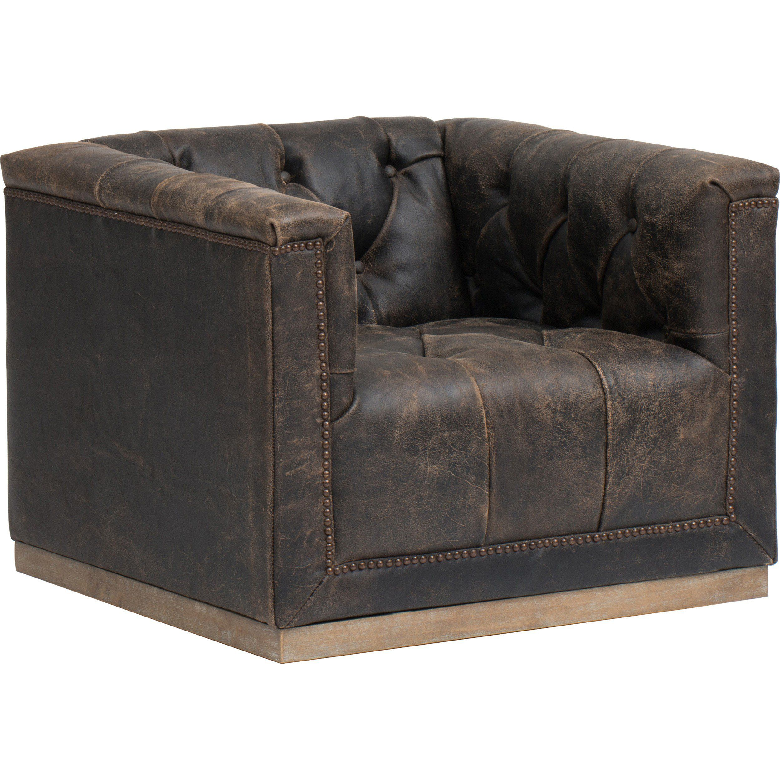 Leather Swivel Chairs For Living Room Maxx Leather Swivel Chair Destroyed Black Swivel Chair Leather