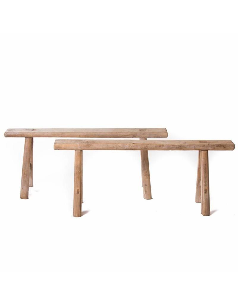 Phenomenal Antique Chinese Plain Wooden Bench Benches Uwap Interior Chair Design Uwaporg