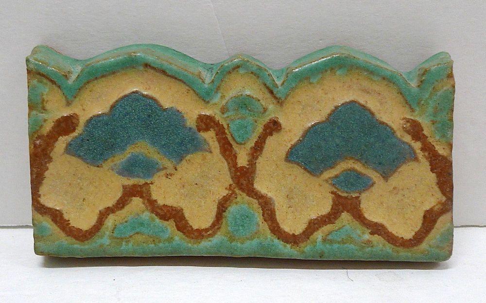 Solon & Schemmel Vintage Contoured Floral Border Tile | Fliesen ...
