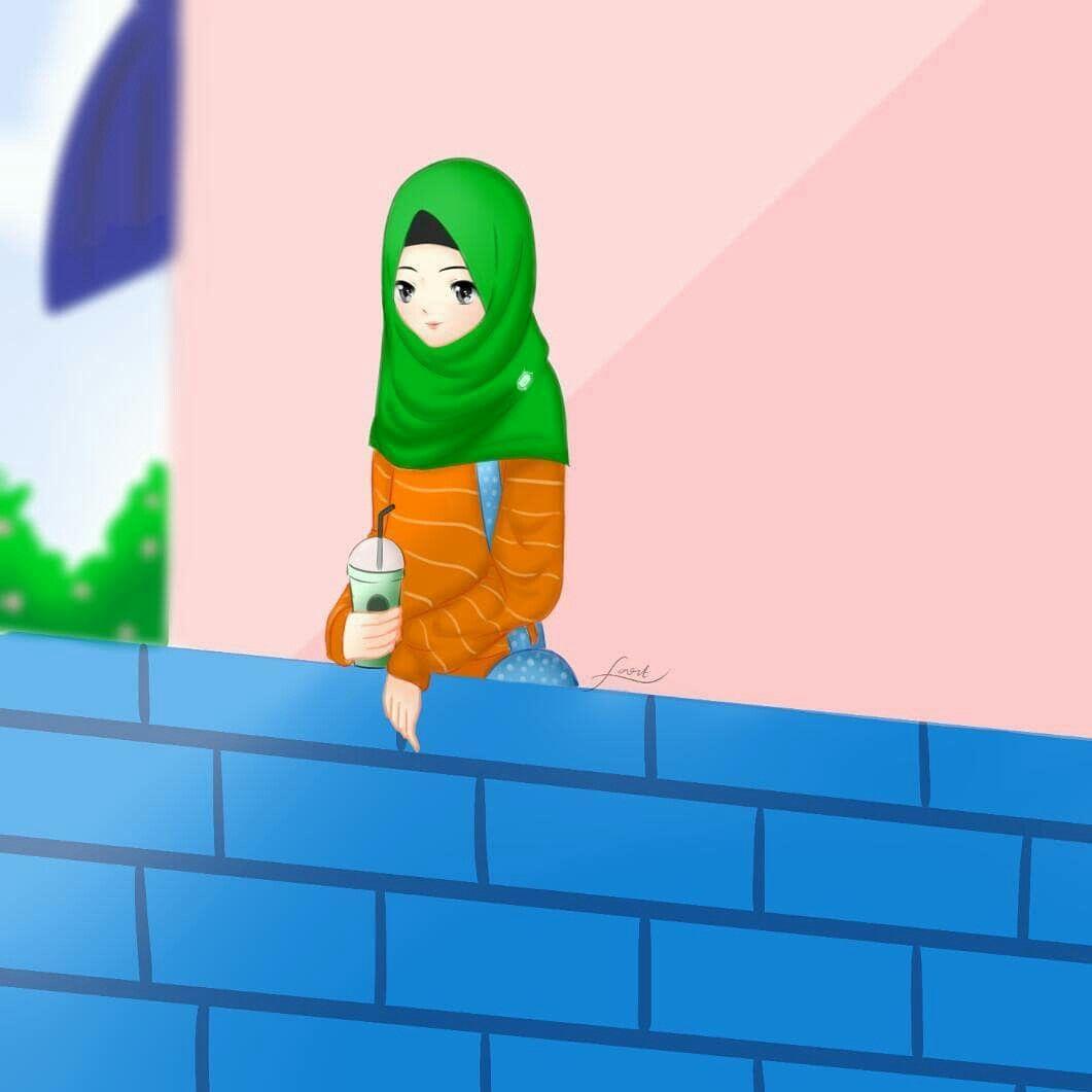 Gambar Animasi Oleh Noviati05 Pada Anime Islamic
