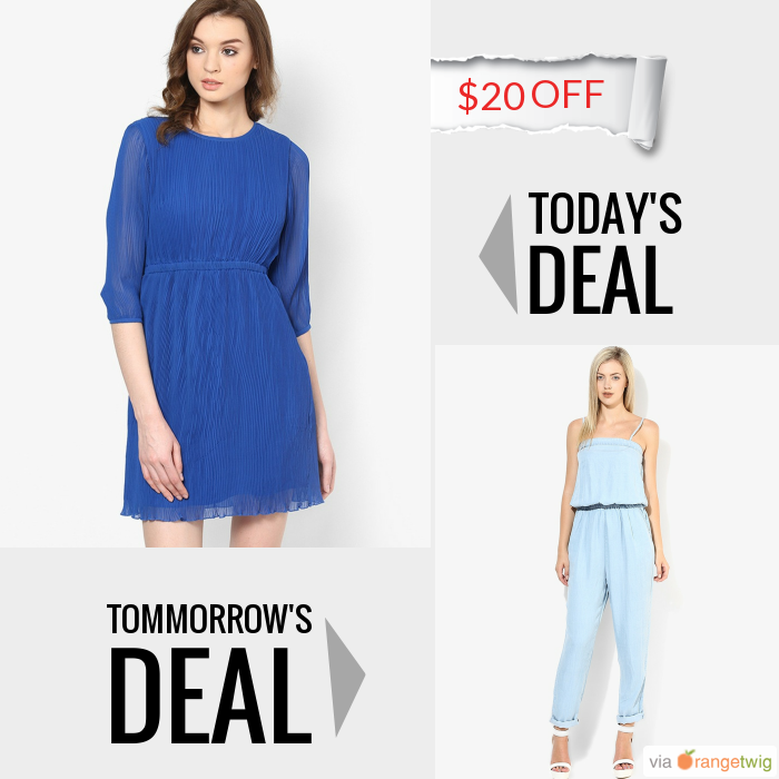 Today Only! ₹11 OFF this item.  Follow us on Pinterest to be the first to see our exciting Daily Deals. Today's Product: Blue Casual Skater Dress Buy now: http://orangetwig.myshopify.com/products/blue-casual-skater-dress?utm_source=Pinterest&utm_medium=Orangetwig_Marketing&utm_campaign=DD1   #beautiful #instagood #instafollow #photooftheday #picoftheday #love #smallbiz #instalike #shopsmall #shopping #etsy #ootd #OrangeTwig #sale #dailydeal #dealoftheday #todayonly #instadaily #forsale…