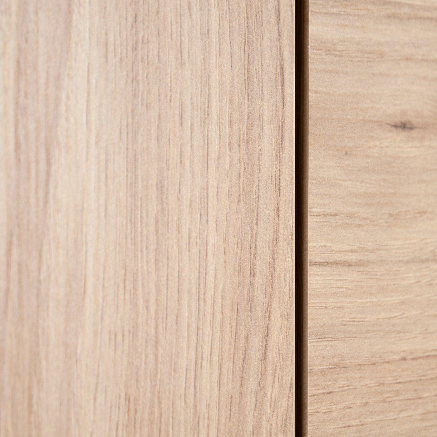 Sideboard with 3 doors, gray – sonoma oak – LONG ISLAND