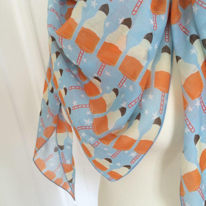 Stoff für Schals, Textildesign: Carla Rickenbacher/musterkitz
