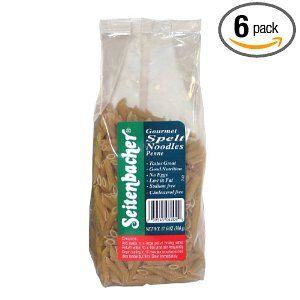 Seitenbacher Speltwheat Penne.  http://affordablegrocery.com