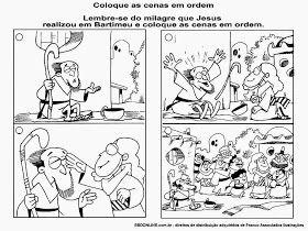 Aula Completa Jesus Cura Bartimeu O Cego De Jerico Artesanatos