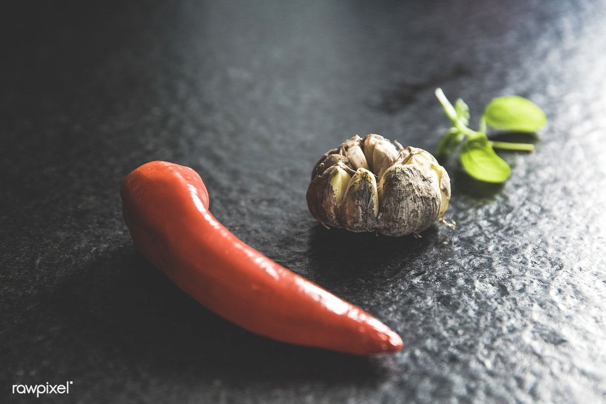 Close up of fresh spices free image by