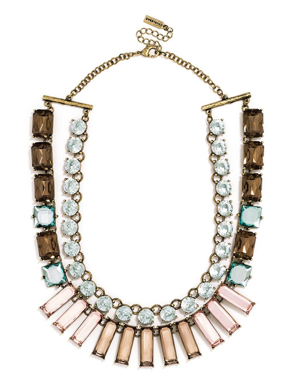 Concerto Layered Necklace Necklace - Topaz | BaubleBar