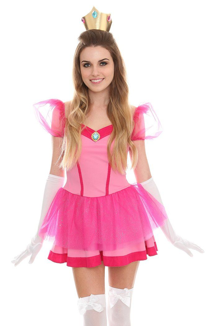 Princess Peach costume at Hot Topic $55 | halloween | Pinterest ...
